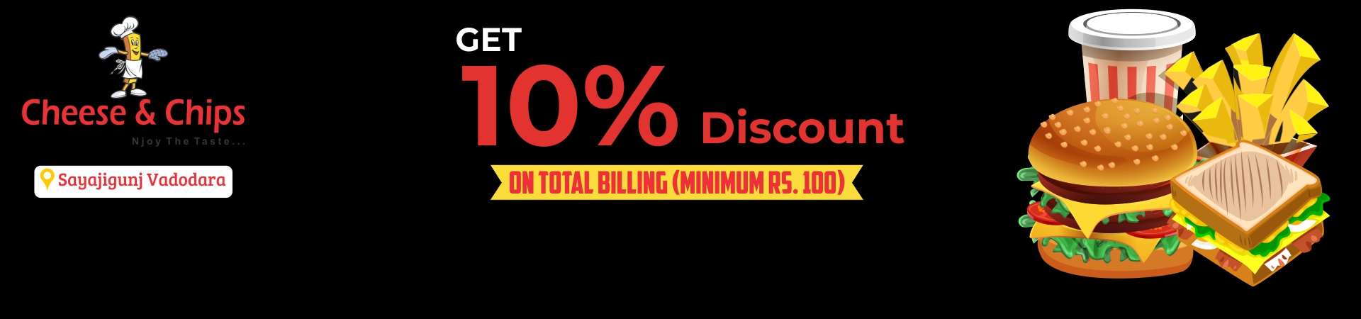 Get 10% Discount on Total Billing