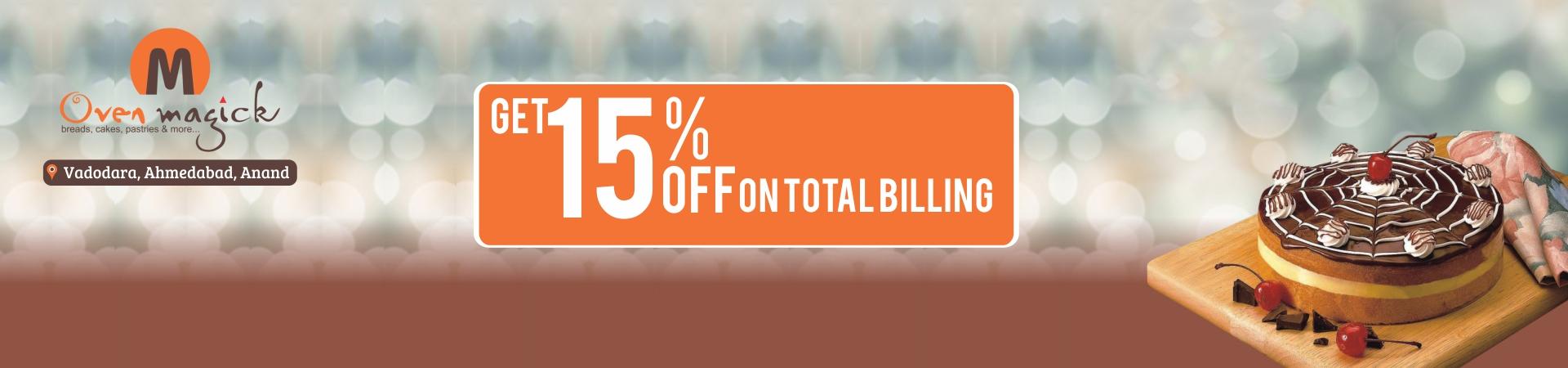 Get 15% OFF at Total Billing