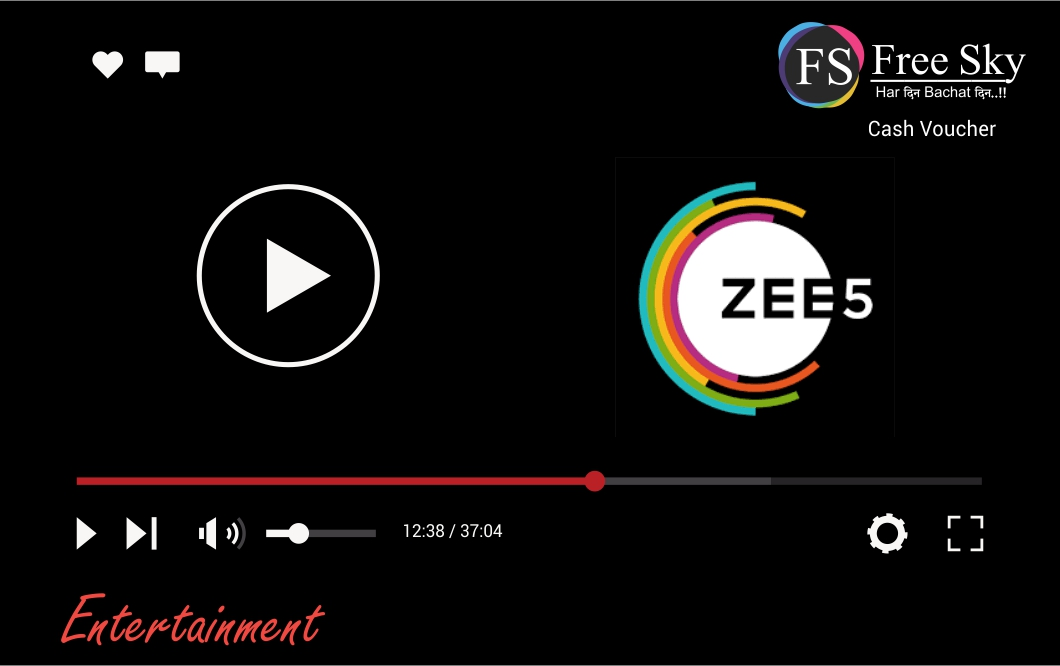 Zee5 for 6 month subscription