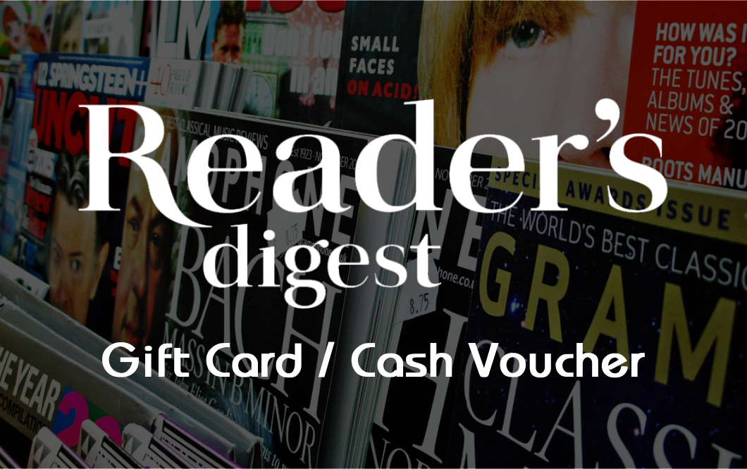 Reader's Digest  E-Gift Voucher