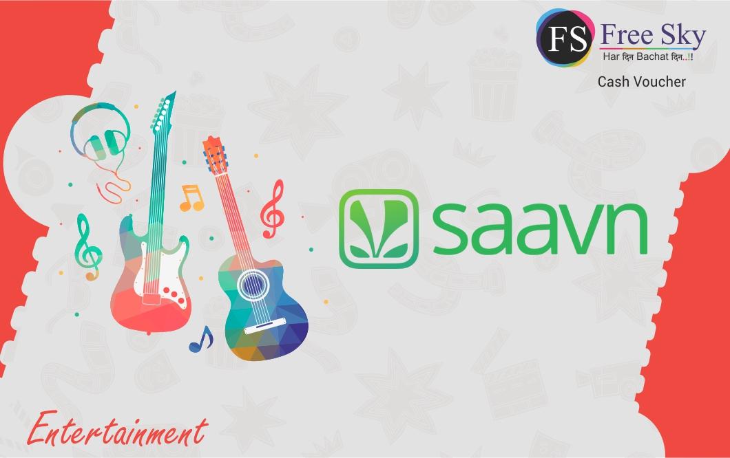 Saavn E-Gift Card