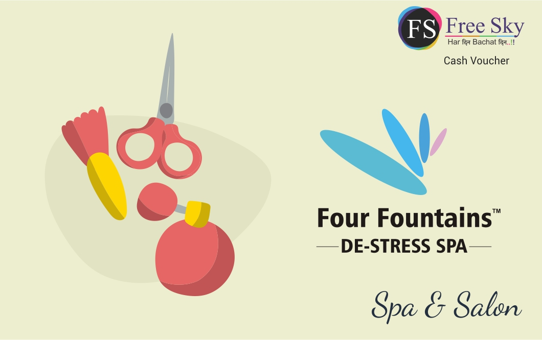Four Fountain Spa E-Gift  Voucher